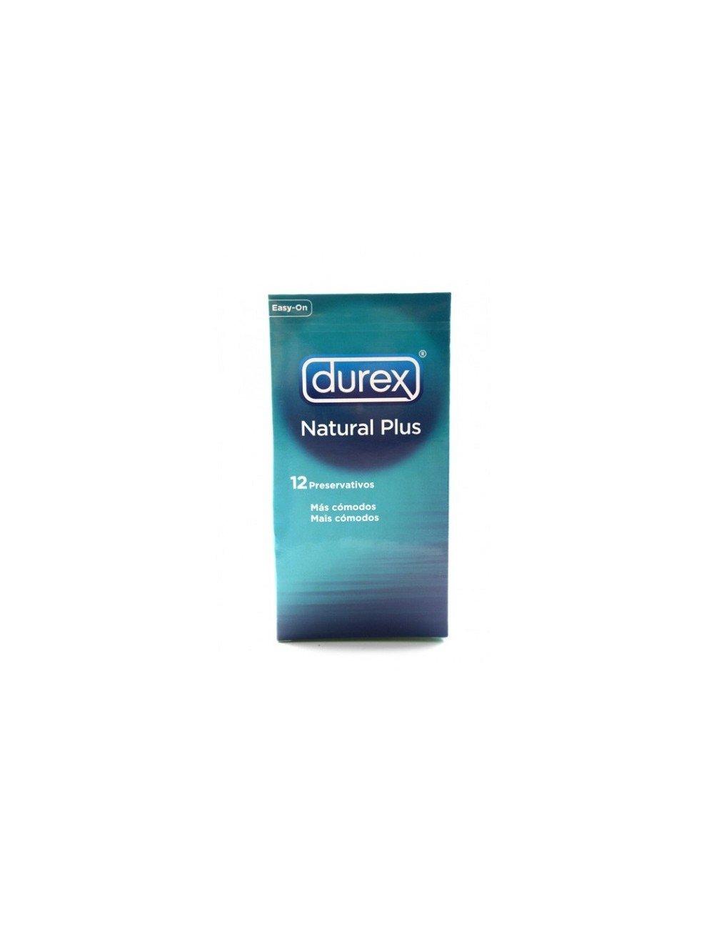 DUREX NATURAL PLUS PRESERVATIVOS 12 U